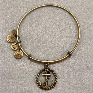Alex and Ani Nautical charm bracelet